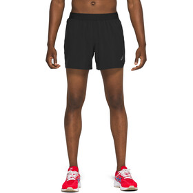 "asics Road 5"" Shorts Heren, performance black"